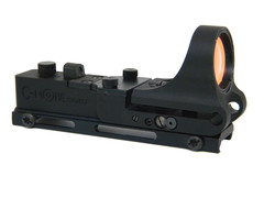 C-More  ARW - Railway Red Dot Sight, Aluminum Body, Click Switch